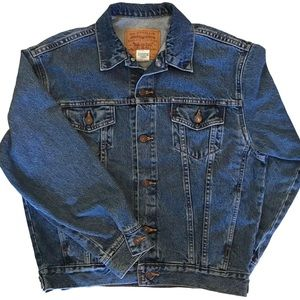 Vintage Denim Jacket | Fits between M & L